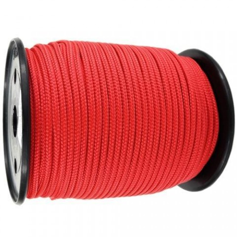 Red Polypropylene Rope